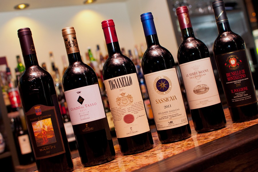 Bella Luce Super Tuscan Red Wines