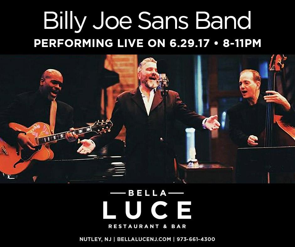 Thursday, June 29th, 2017 - Billy Joe Sans Band