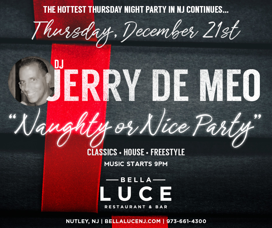 DJ Jerry De Meo December 21st, 2017