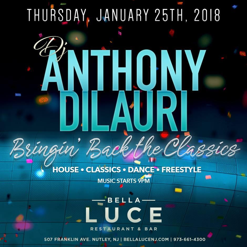 Anthony DiLauri January 25th, 2018