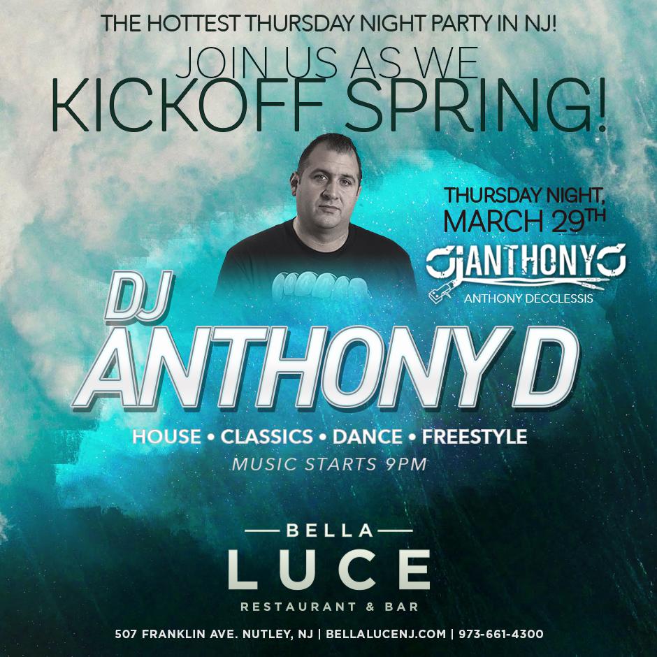 DJ AnthonyD - March 29th, 2018