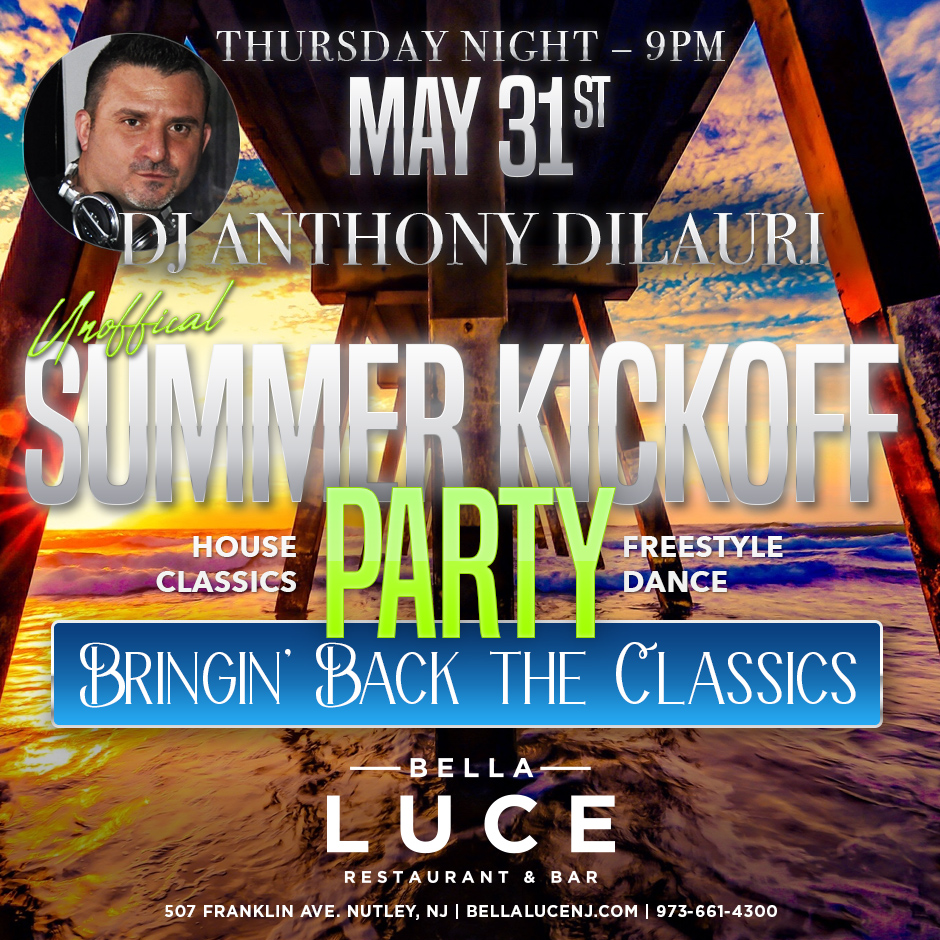 May 31st, 2018 - DJ Anthony DiLauri