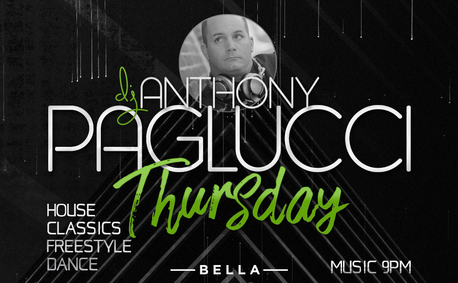DJ Anthony Paglucci - August 23rd, 2018