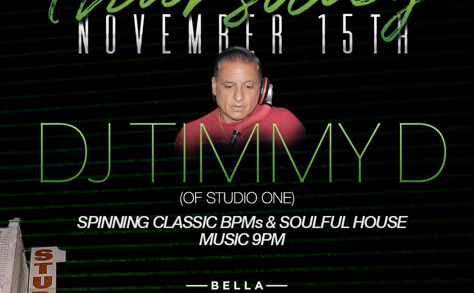 November 15th DJ Timmy 'D' Throwback Thursday