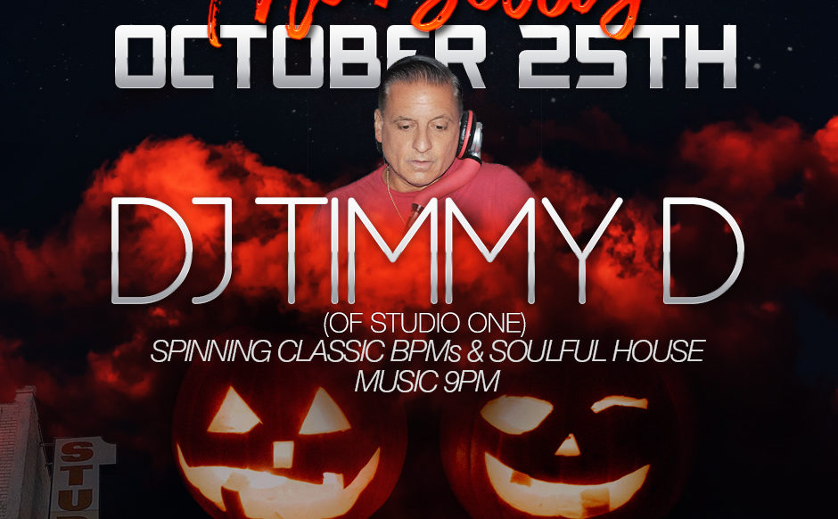 DJ Timmy D - October 25th, 2018