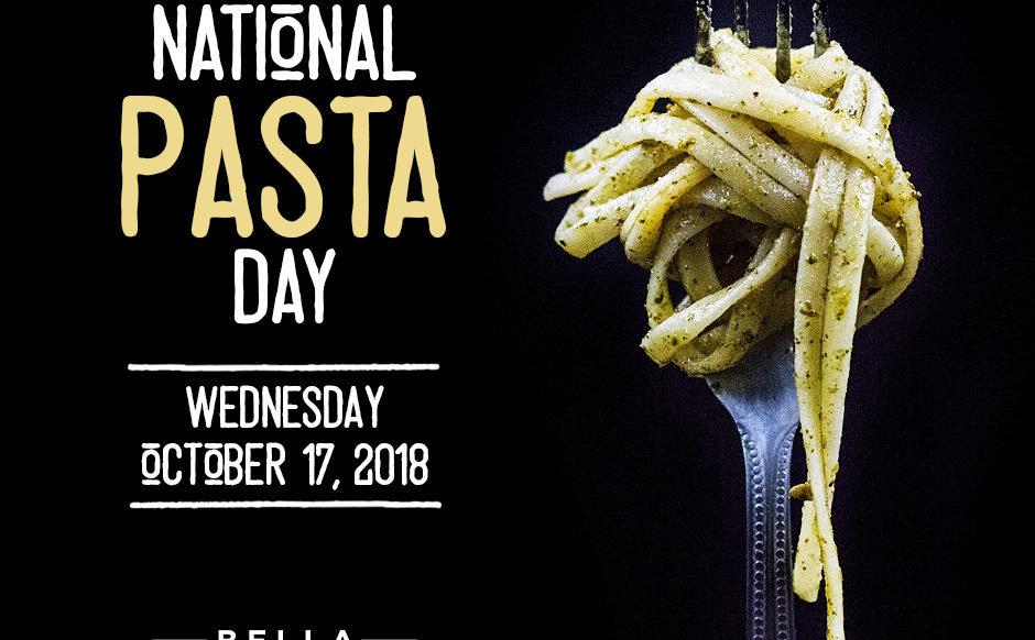 5 Course Dinner - National Pasta Day 2018 - October 17th, 2018