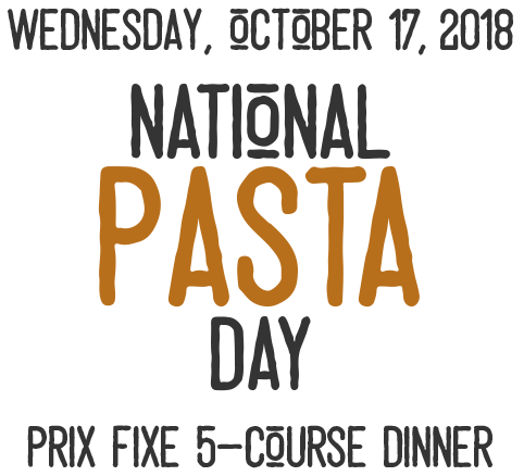 National Pasta Day Text