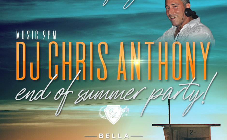 DJ Chris Anthony - August 29th, 2019