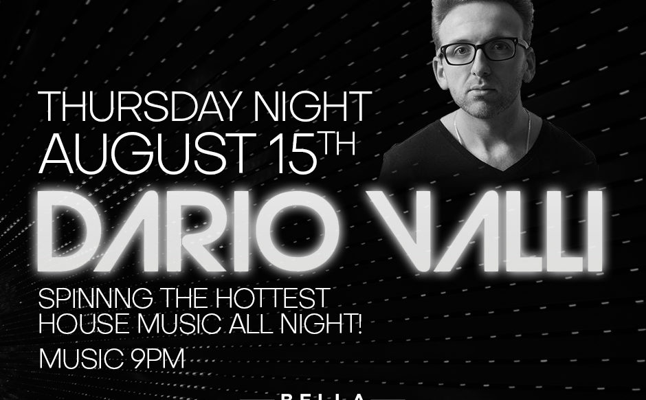 DJ Dario Valli - August 15th, 2019