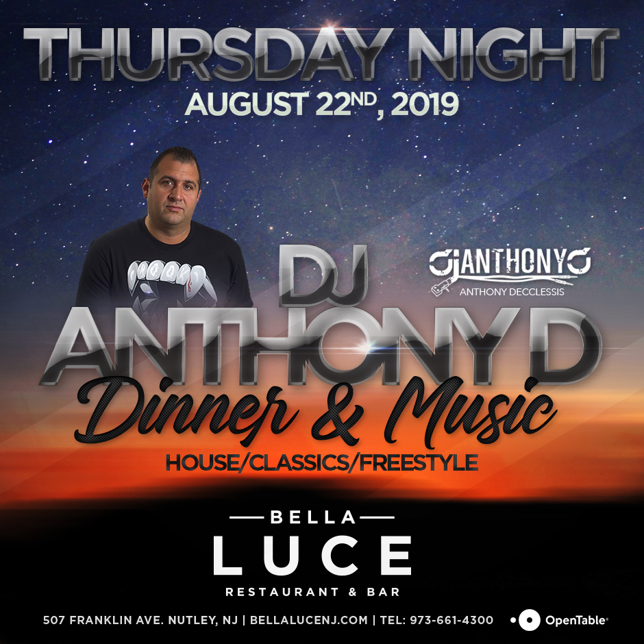 Dj Anthony D - August 22nd, 2019