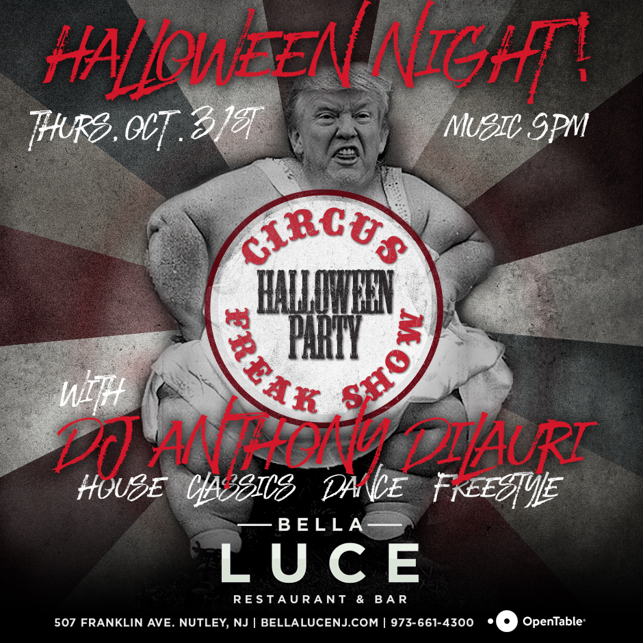 Halloween Party - Thursday, October 31st, 2019