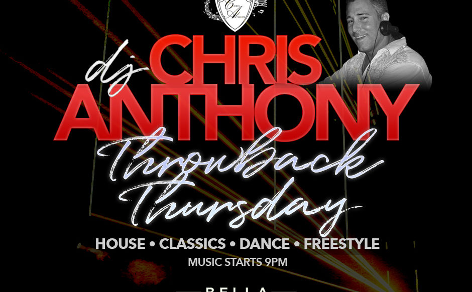DJ Chris Anthony - November 21st, 2019