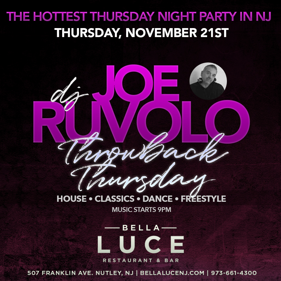DJ Joe Ruvolo November 21st, 2019