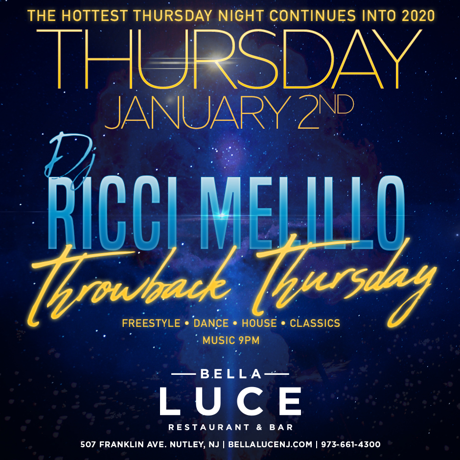DJ Ricci Melillo - January 2nd, 2020