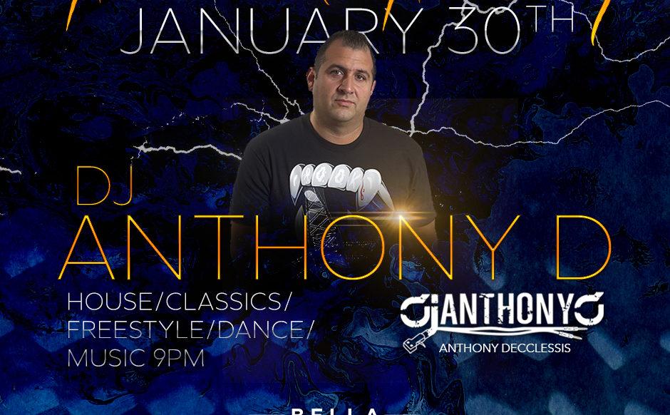 DJ Anthony D - January 30th, 2020
