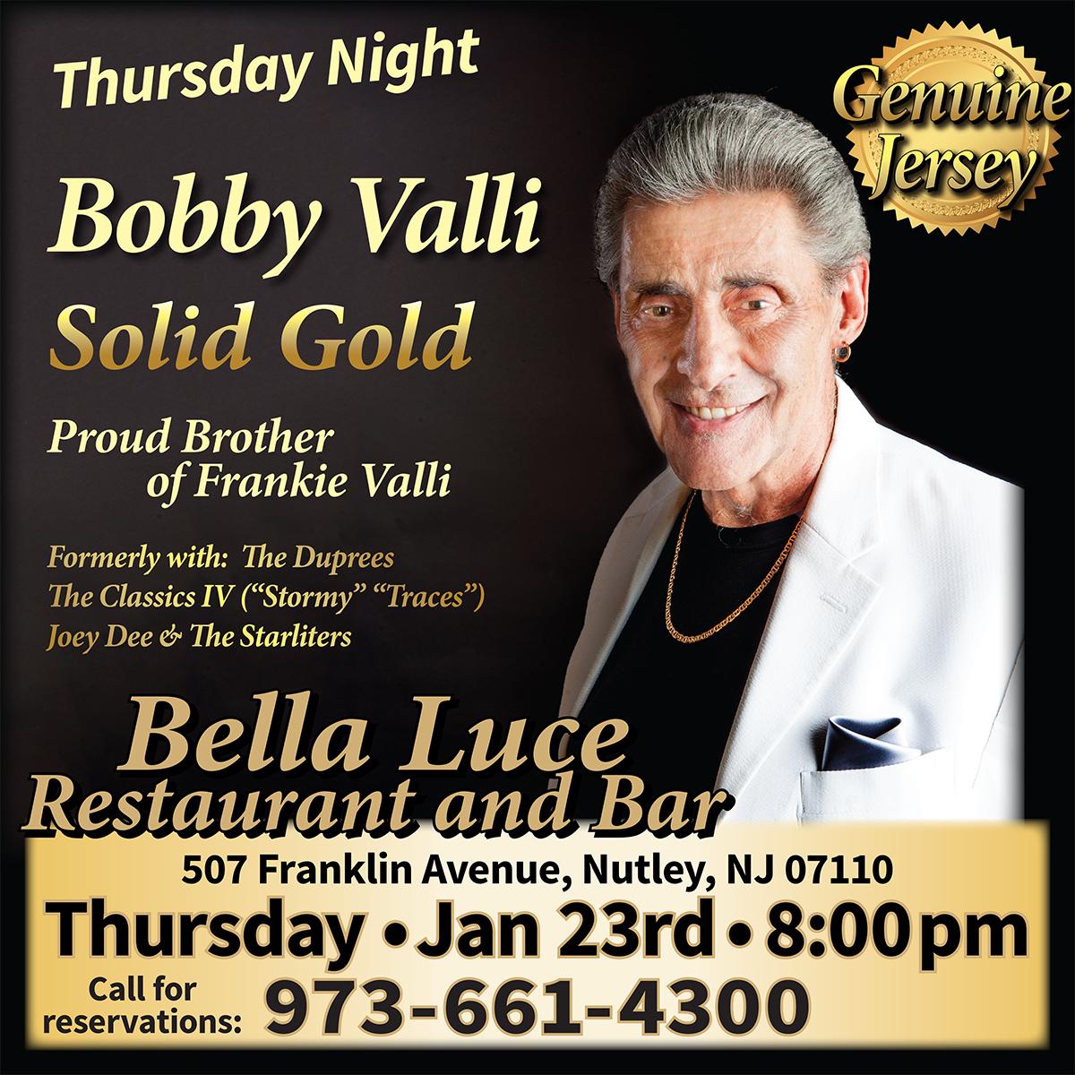 Bobby Valli - January 23rd, 2020