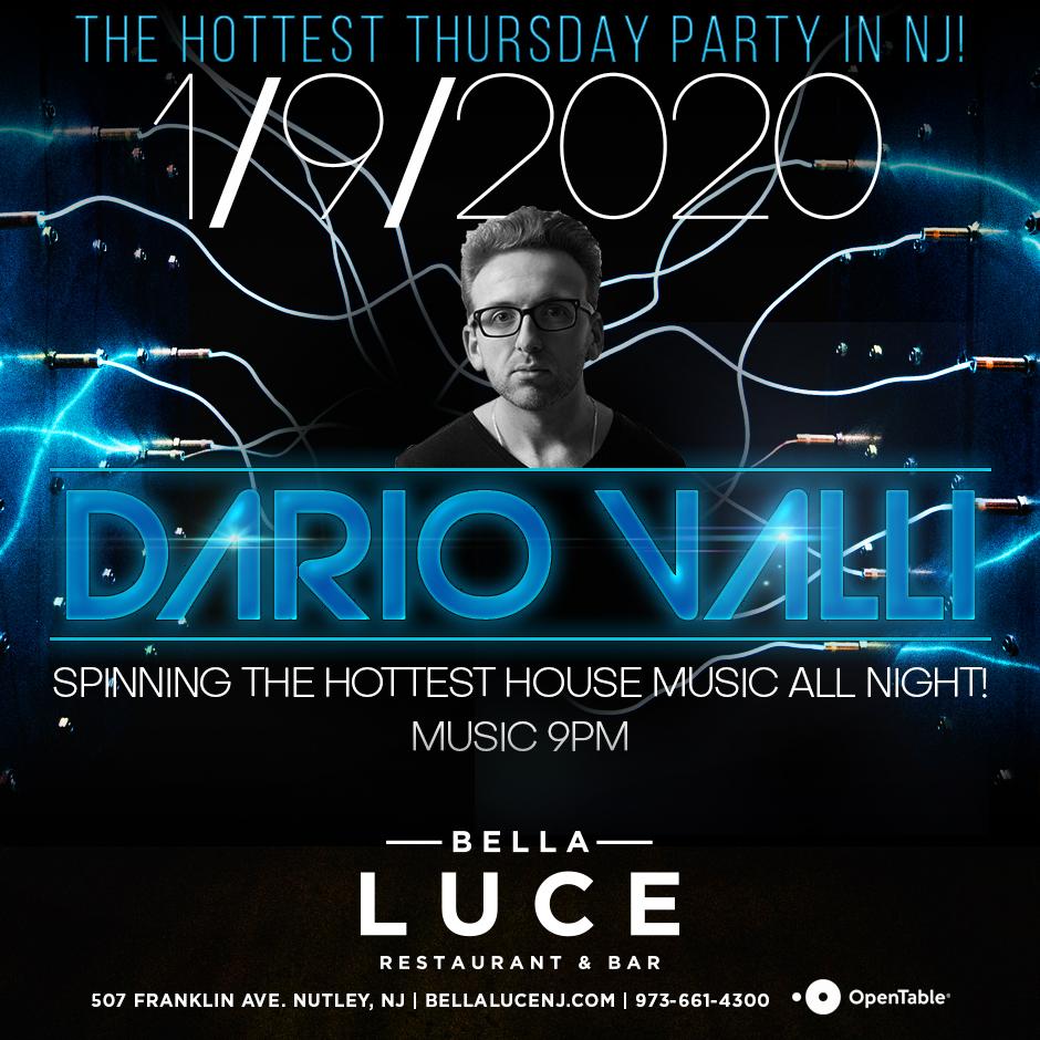 DJ Dario Valli - January 9th, 2020