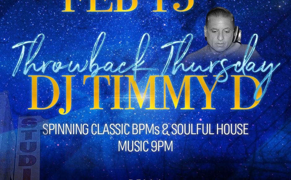 DJ Timmy D - February 13th, 2020